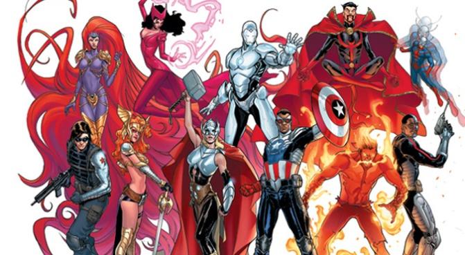 Avengers NOW WMS