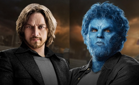 Professor X and Beast in X-Men Days of Future Past